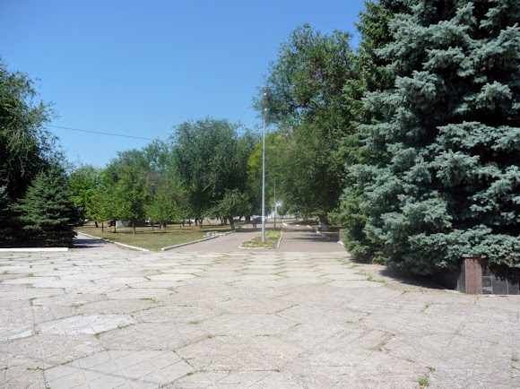 Васильковка. Парк