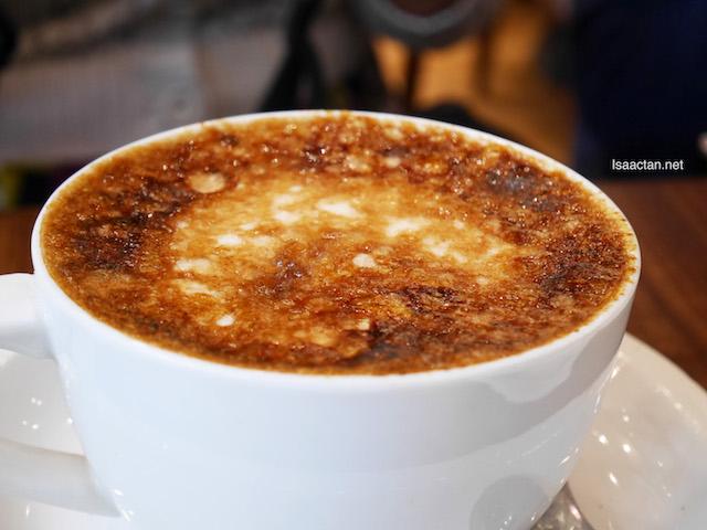 Creme Brulee Latte - RM16