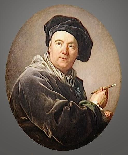 Charles-André van Loo by Louis-Michel van Loo, 1764