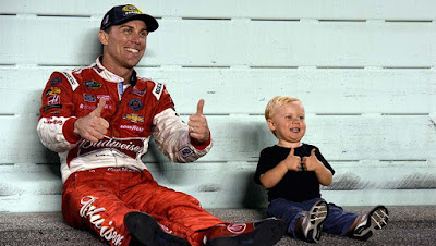 Kevin & Keelan Harvick - #NASCAR