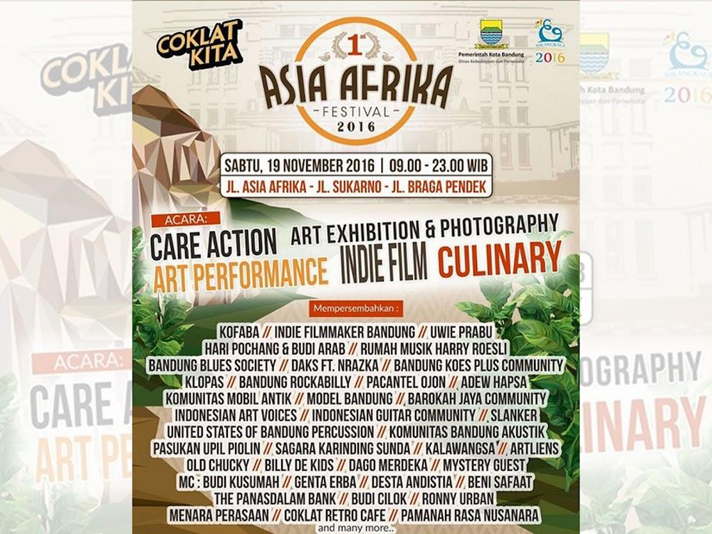Asia Afrika Festival Cikapundung 19 November 2016