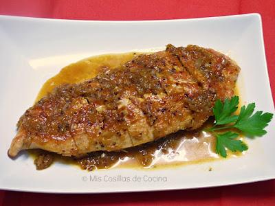 http://www.miscosillasdecocina.com/2015/01/solomillo-de-pavo-con-salsa-de-naranja.html