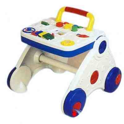 Baby's Activity Walker with Colorful Multi-Game Playing Toys