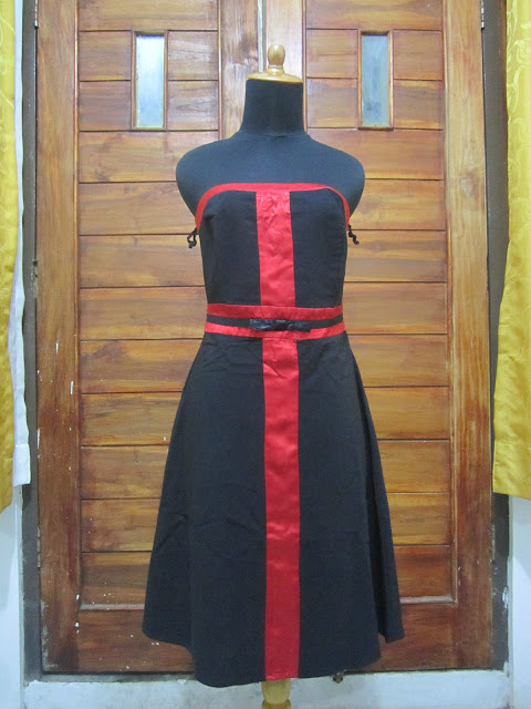 Dress Up front Ukuran S ( DR 9 )