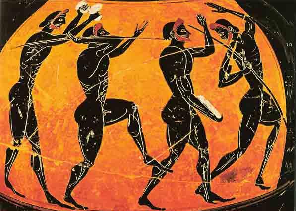 Historia De Los Juegos Olimpicos Antiguos Jj Oo Isil