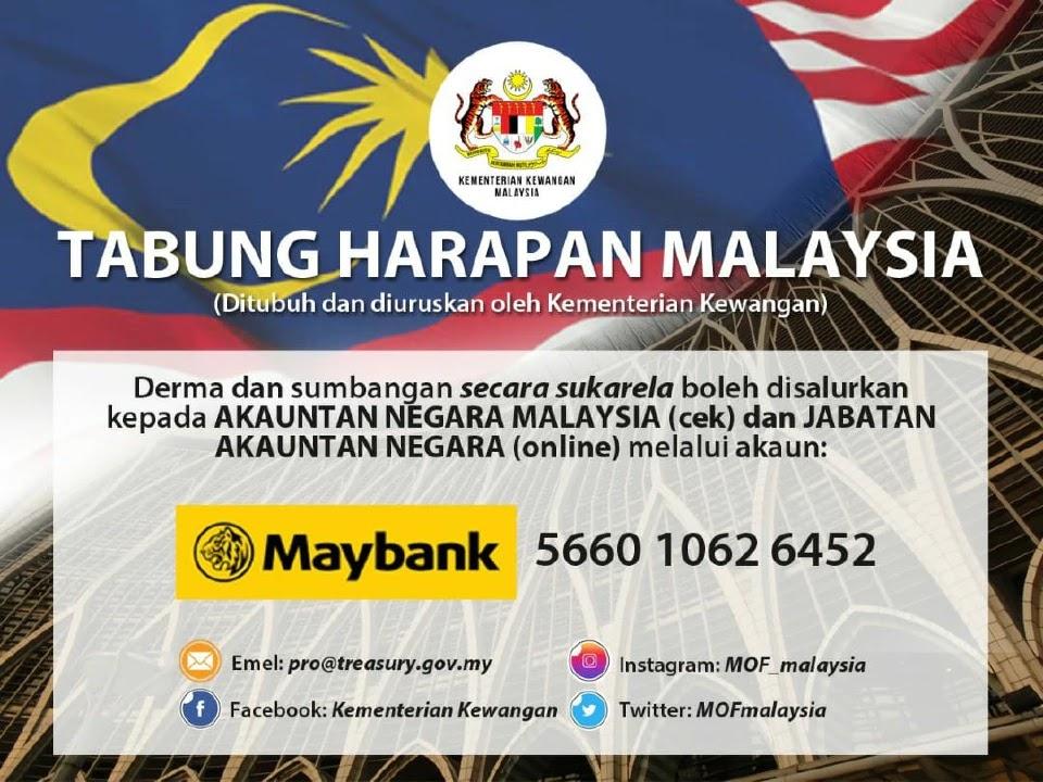 nombor akaun tabung harapan malaysia