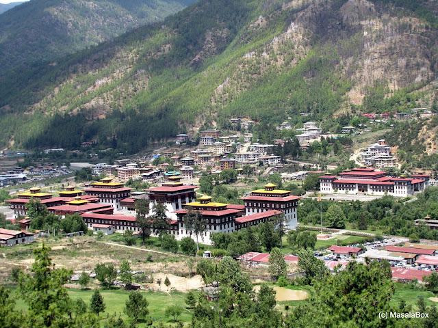 Tashichho Dzong Bhutan parliament