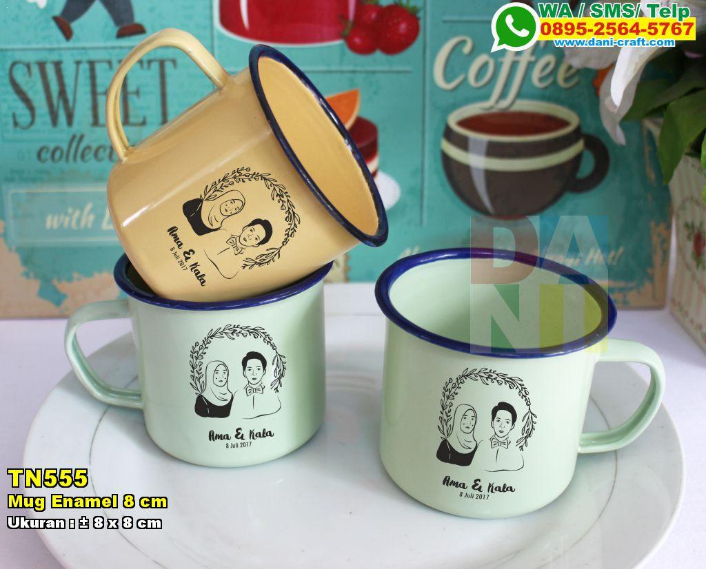 Mug Enamel 8 Cm Souvenir Pernikahan