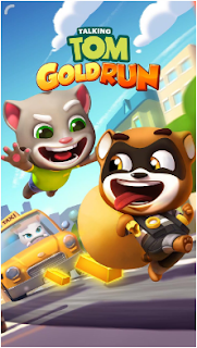 Download Game Talking Tom Gold Run Apk Mod Money for android