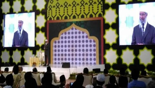 Ini Pesan Dr Zakir Naik Untuk Seluruh Umat Islam di Indonesia