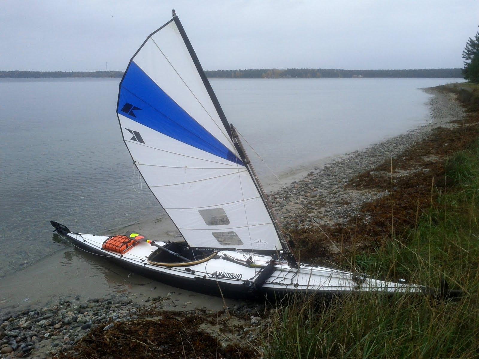 kayaksailor sail klepper
