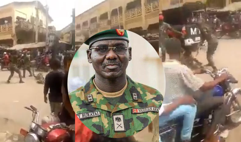 Army says it arrested two soldiers that brutalized Onitsha cripple