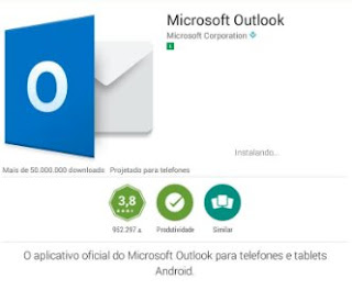 Como fazer download e instalar o Hotmail no tablet