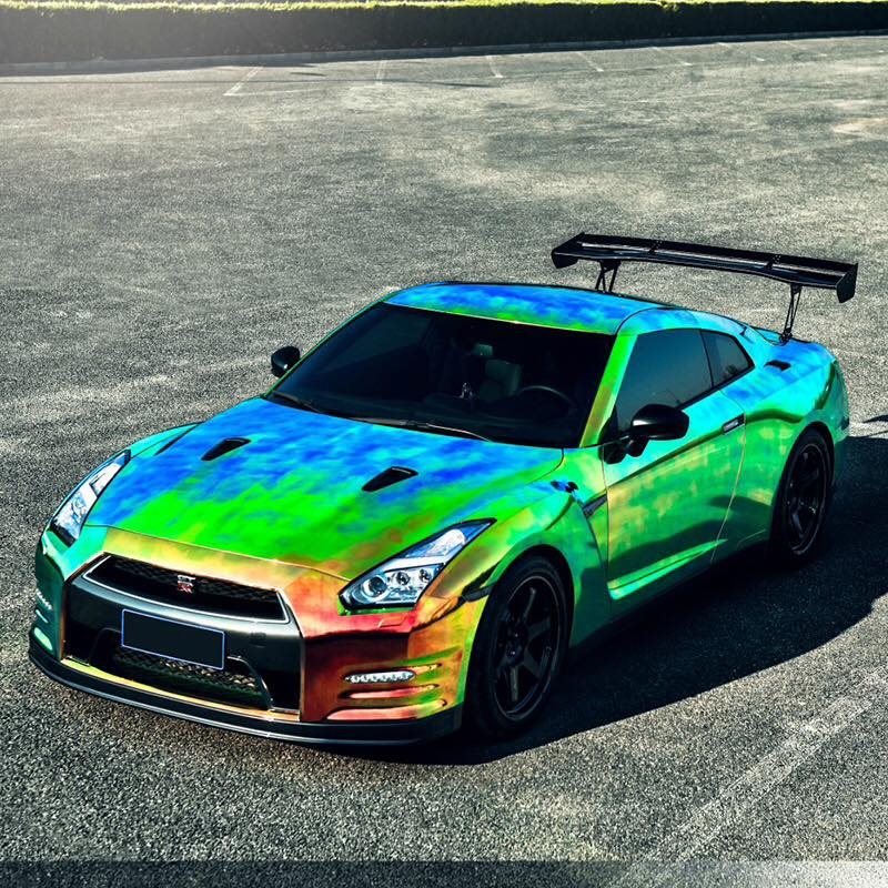 "Ford Cobra Truck 2017 >> MUSCLE CAR COLLECTION : Nissan ""Godzilla"" GTR R35 Colored Rainbow"