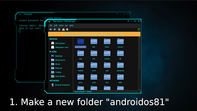 Step 1 Install Android-x86 On Ubuntu