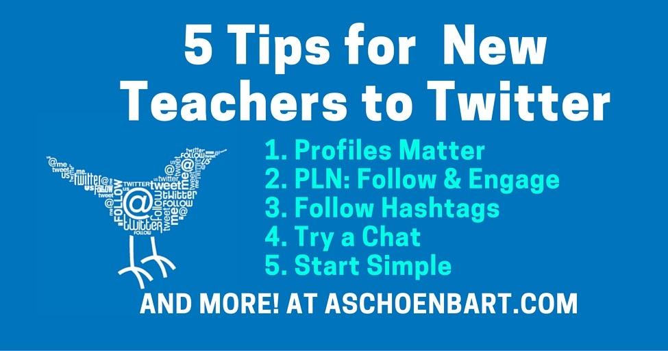 5 Tips for Teachers New to Twitter