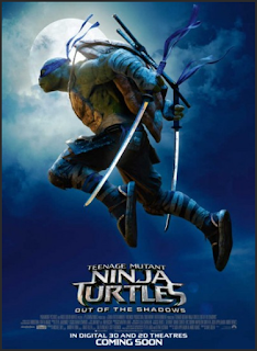 Poster TEENAGE MUTANT NINJA TURTLES 2