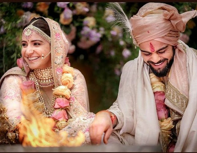 Did you See the Pictures of Virat Kohli And Anushka Sharma Wedding