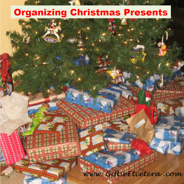 organizing for Christmas; Christmas Tree; Christmas Presents