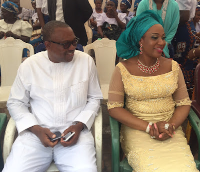 Image result for peter obi and wife