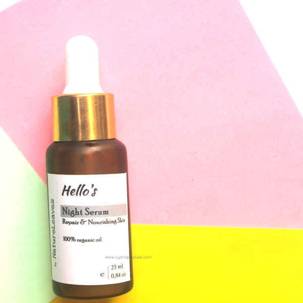 (Sponsored) Review Hello's Night Serum by Nature Leaves