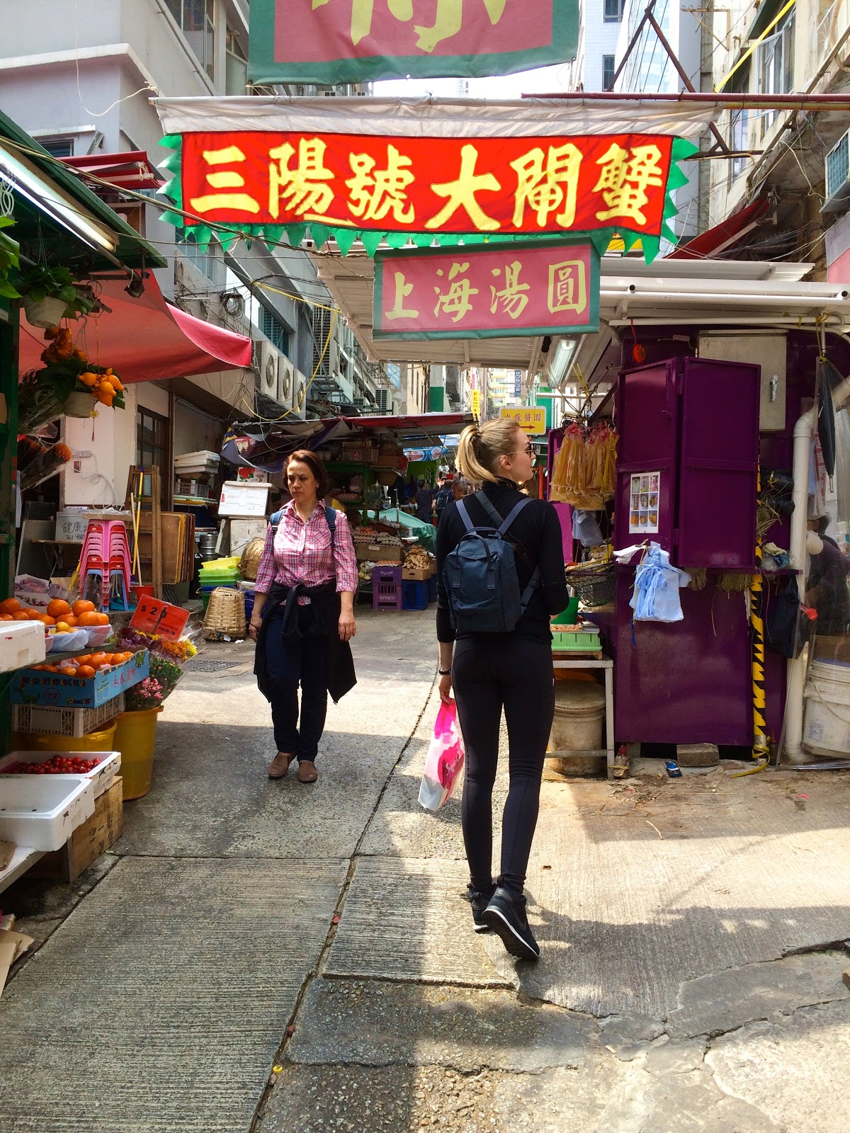 Hollywood Road Market Hong Kong hotspot