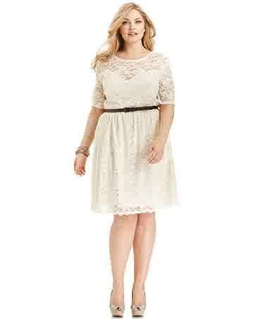 On Vogue 4 Plus Size Little White Latest Fashion Trend