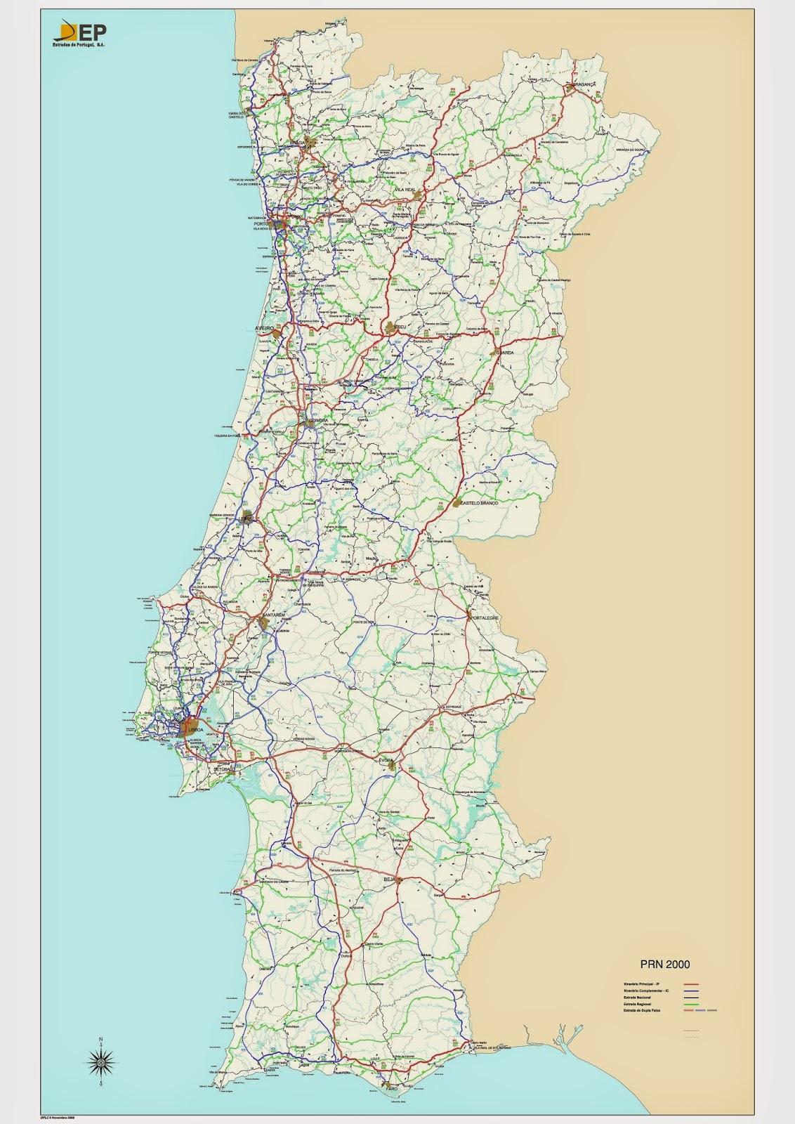 mapa rodoviario de portugal Estradas de Portugal [2015]   SkyscraperCity mapa rodoviario de portugal