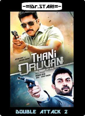 Thani Oruvan 2015 Dual Audio UNCUT HDRip 480p 500Mb