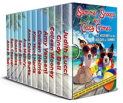 Summer Snoops and Cozy Crimes is featured at the HBS Author's Spotlight Boxset Showcase