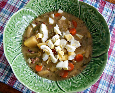 Green Bean Soup, this tastes like summertime, part of our December blitz of recipes!