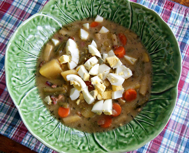 Green Bean Soup, frugal, delicious and easy.