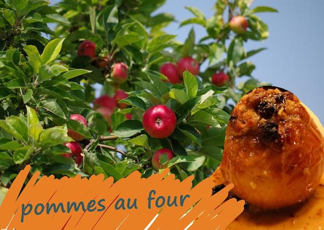 Pommes fruits cuites au four fourrée au fromage crémeux parfum vanille et cannelle, sans gluten
