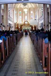 Baguio Cathedral Interior