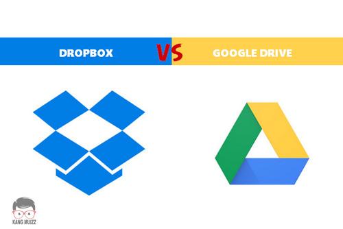 Perbedaan Dropbox dan Google Drive, Mana yang Terbaik Menurut Anda?
