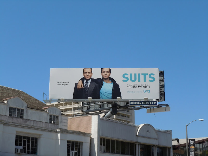Suits TV billboard