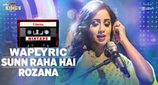 Sunn Raha Hai Rozana Shreya Ghoshal