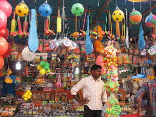 Toy store at the Festival