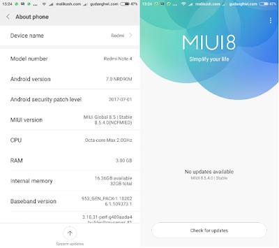 MIUI 8.5.4.0
