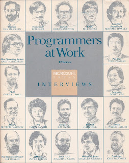 Cover for Programmers At Work