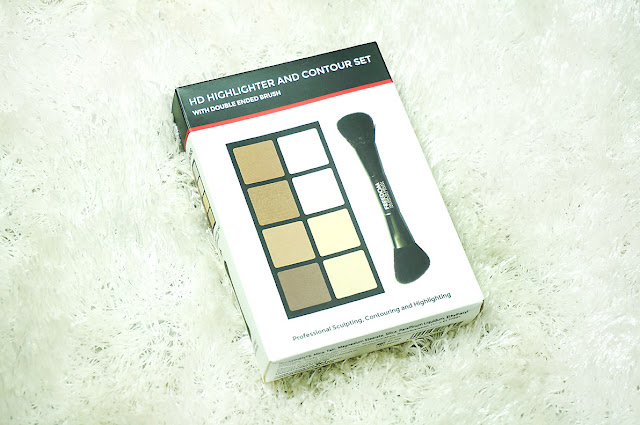 Freedom Makeup London Highlight & Contour Palette with Brush, Freedom makeup london, tam beauty, affordable makeup, dupe that, beauty, contour and highlight, face palette, beauty blog, makeup, makeup blog, top beauty blog of pakistan, makeup online