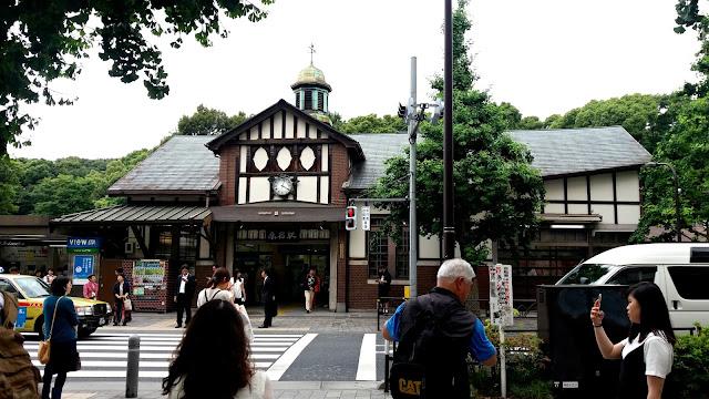 Estación Harajuku, Tokyo. Japón.