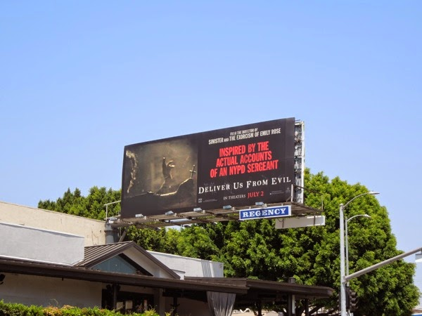 Deliver Us From Evil billboard ad