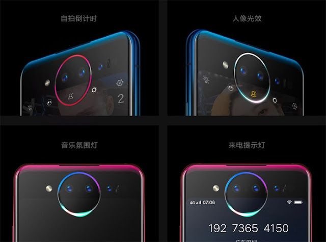 Vivo NEX Dual Display Lunar Ring For Selfie