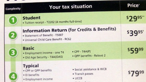 Getting My Income Taxes Done at H&R Block Canada #incometax