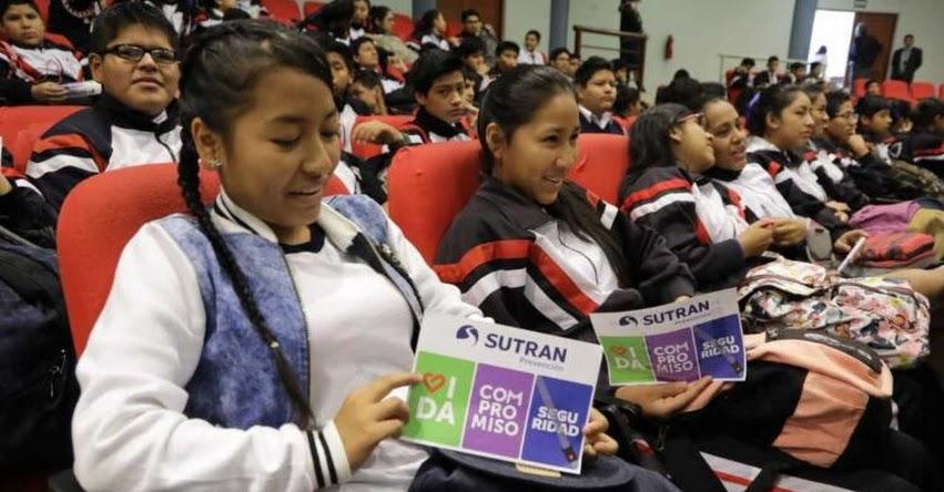 Más de 12 mil escolares aprenden sobre sus derechos y deberes como usuarios de transporte