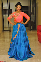 Nithya Shetty in Orange Choli at Kalamandir Foundation 7th anniversary Celebrations ~  Actress Galleries 137.JPG