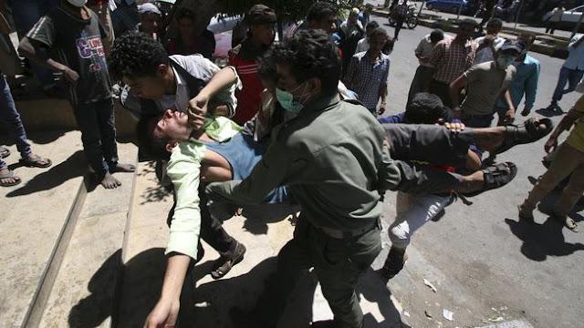 Innalillahi! Hantam Pasar, Serangan Arab Saudi ke Yaman Tewaskan 50 Orang
