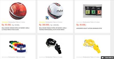 Mitre, produk olahraga berkualitas dan original