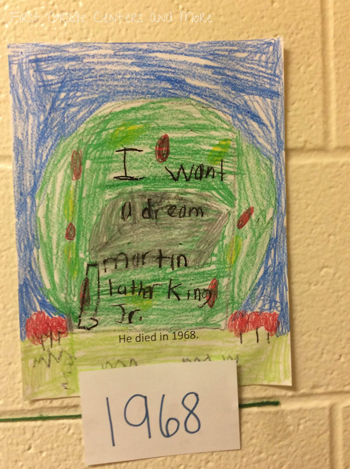 Martin Luther King Jr And Timelines First Grade Centers And More